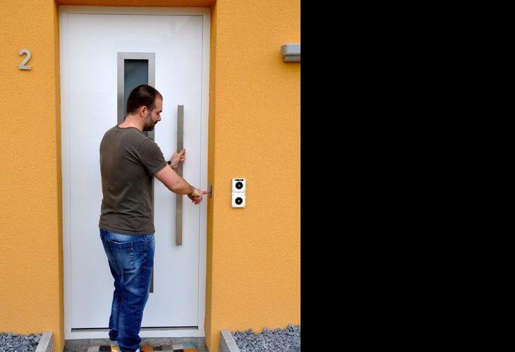 Hörmann Haustüre mit Fingerprint Keso